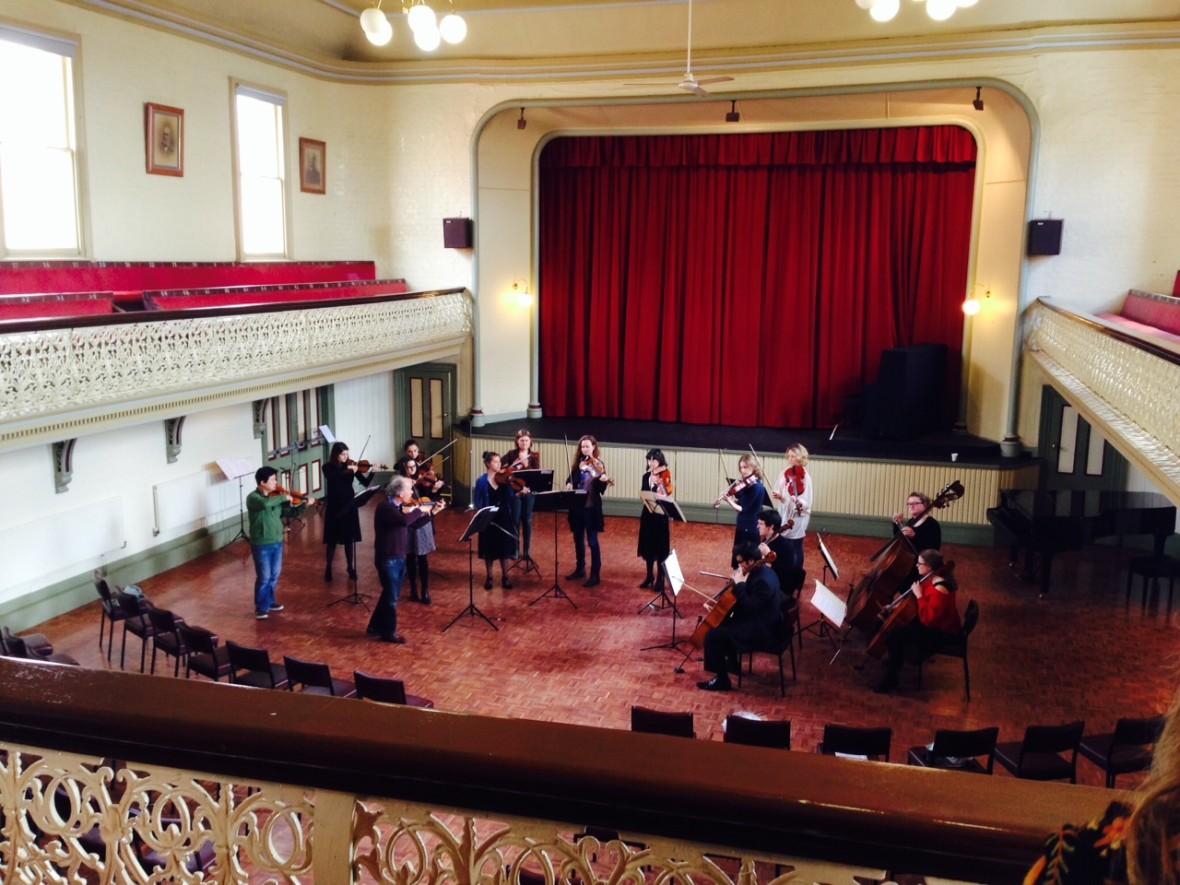 Daylesford Town Hall Rehearsal